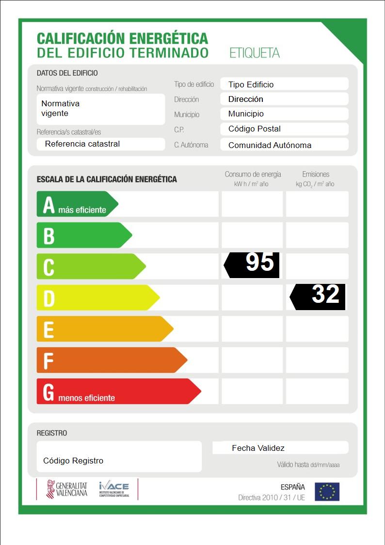 certificado energético alicante